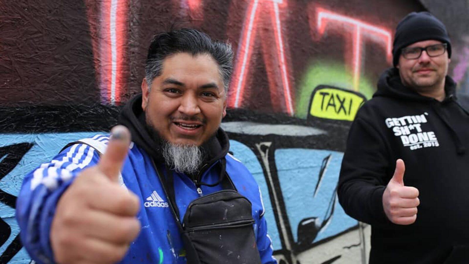 Ray De La Cruz: Solidarität mit Taxi-Demo