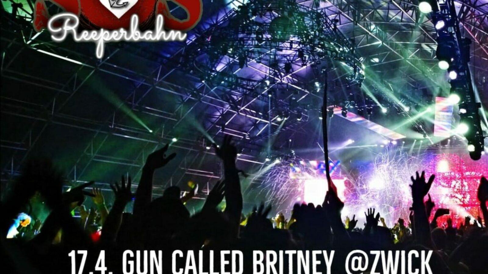 ALIVE Stream von der Reeperbahn: 17.4. Gun Called Britney, Zwick