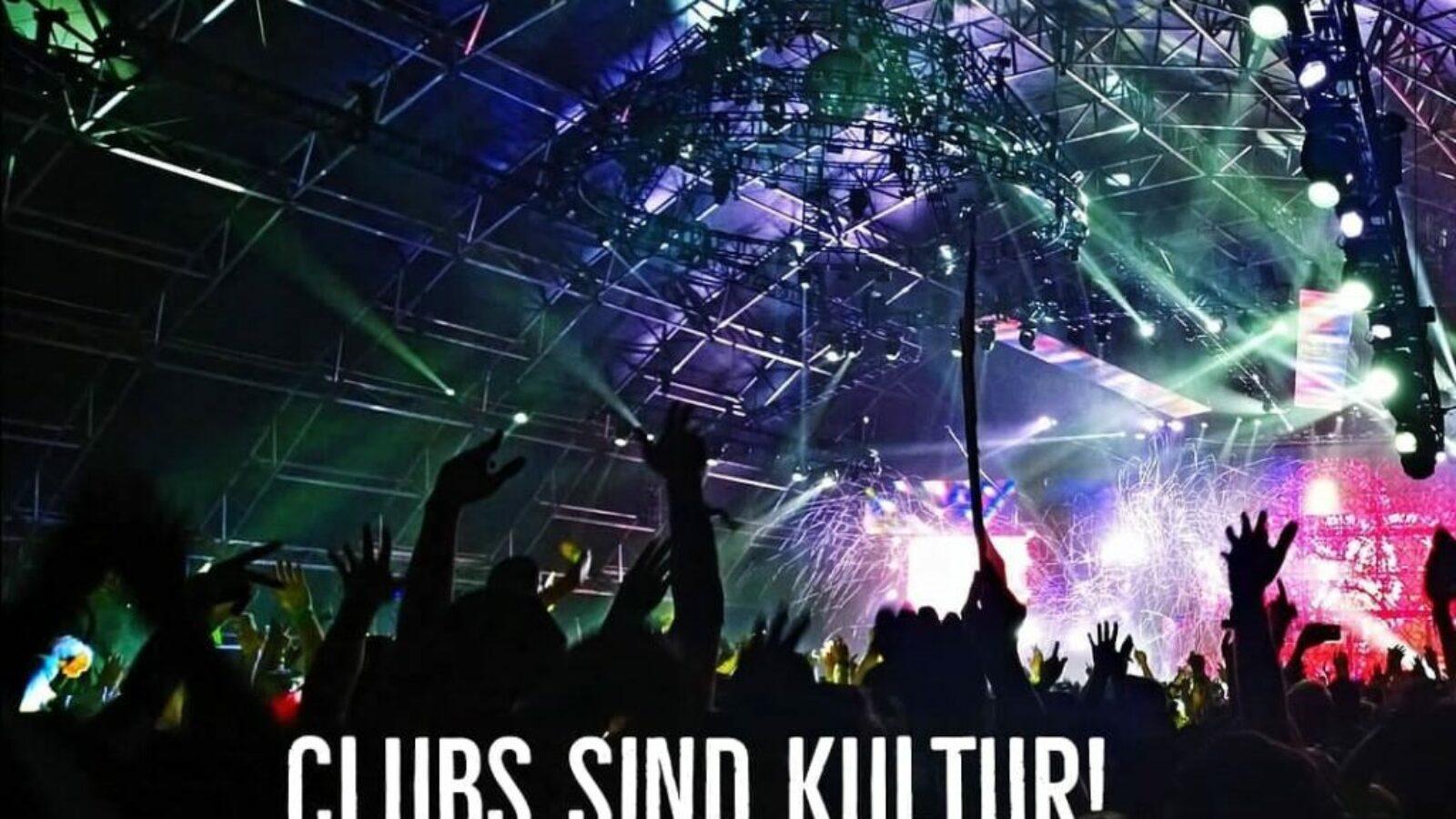 Clubs sind Kultur – Jetzt auch laut Bundestag