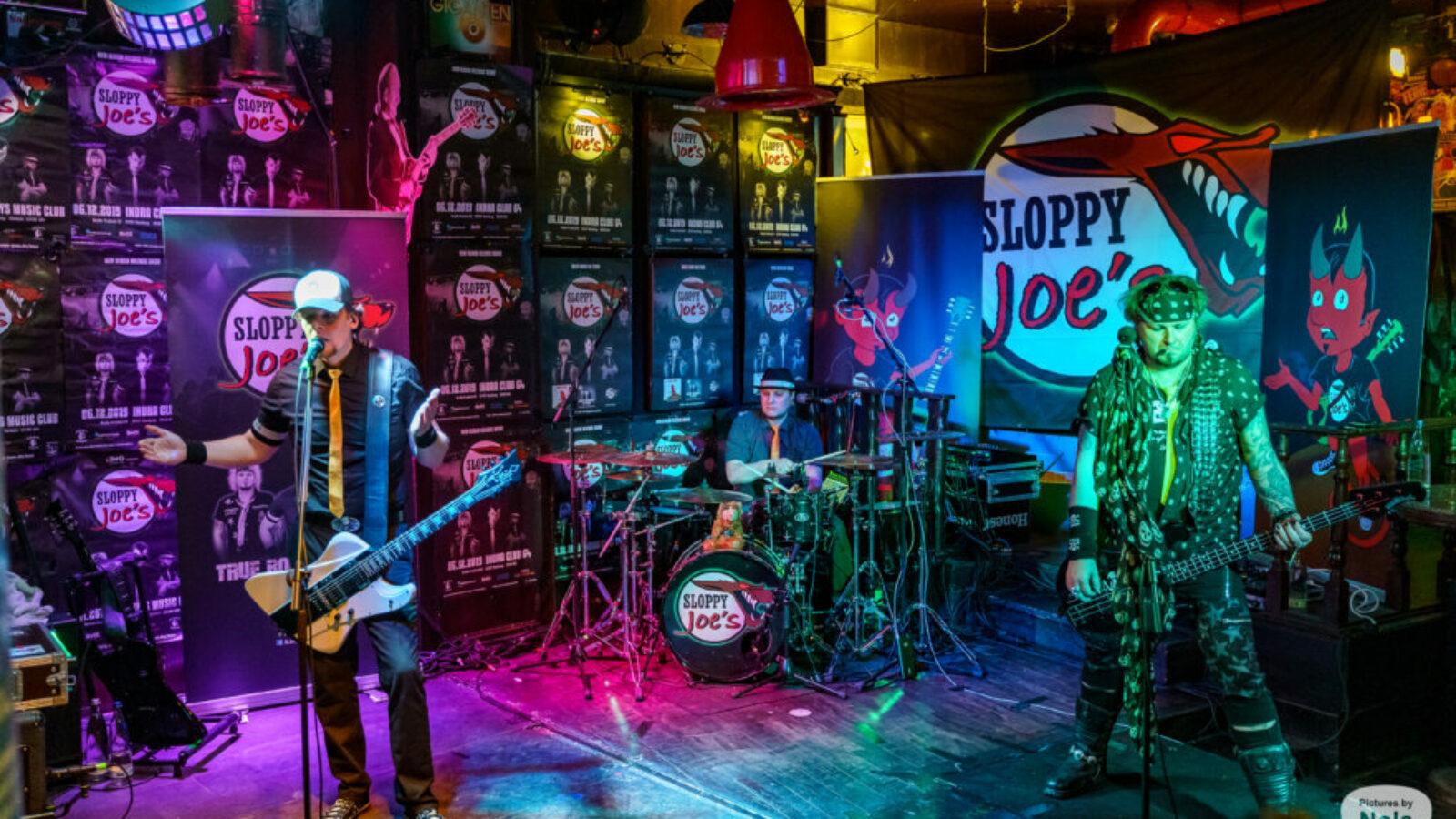 Sloppy Joe`s 22.5., Zwick Live-Stream